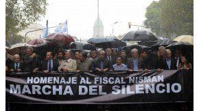 El año pasado se realizó la Marcha del Silencio por el primer aniversario de la muerte de Nisman