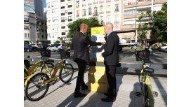 Inauguran el sistema de Ecobicis automáticas