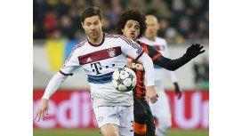 Por los octavos de final, el Bayern Munich igualó en Ucrania