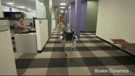 Mirá el perro robot de Google