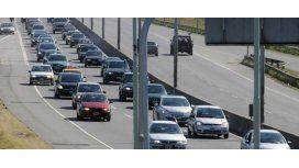 Unos 1.340 autos circulan por hora por la Autovía 2