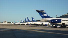 Técnicos de Aerolíneas y Austral anunciaron paro para este lunes
