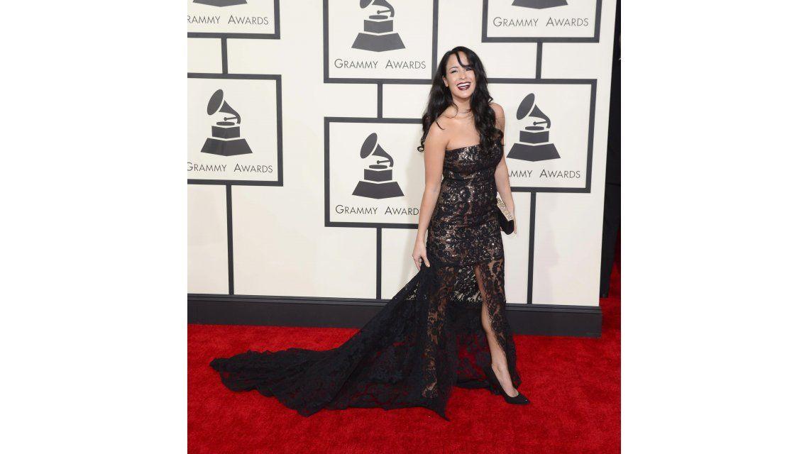La alfombra roja de los premios Grammy