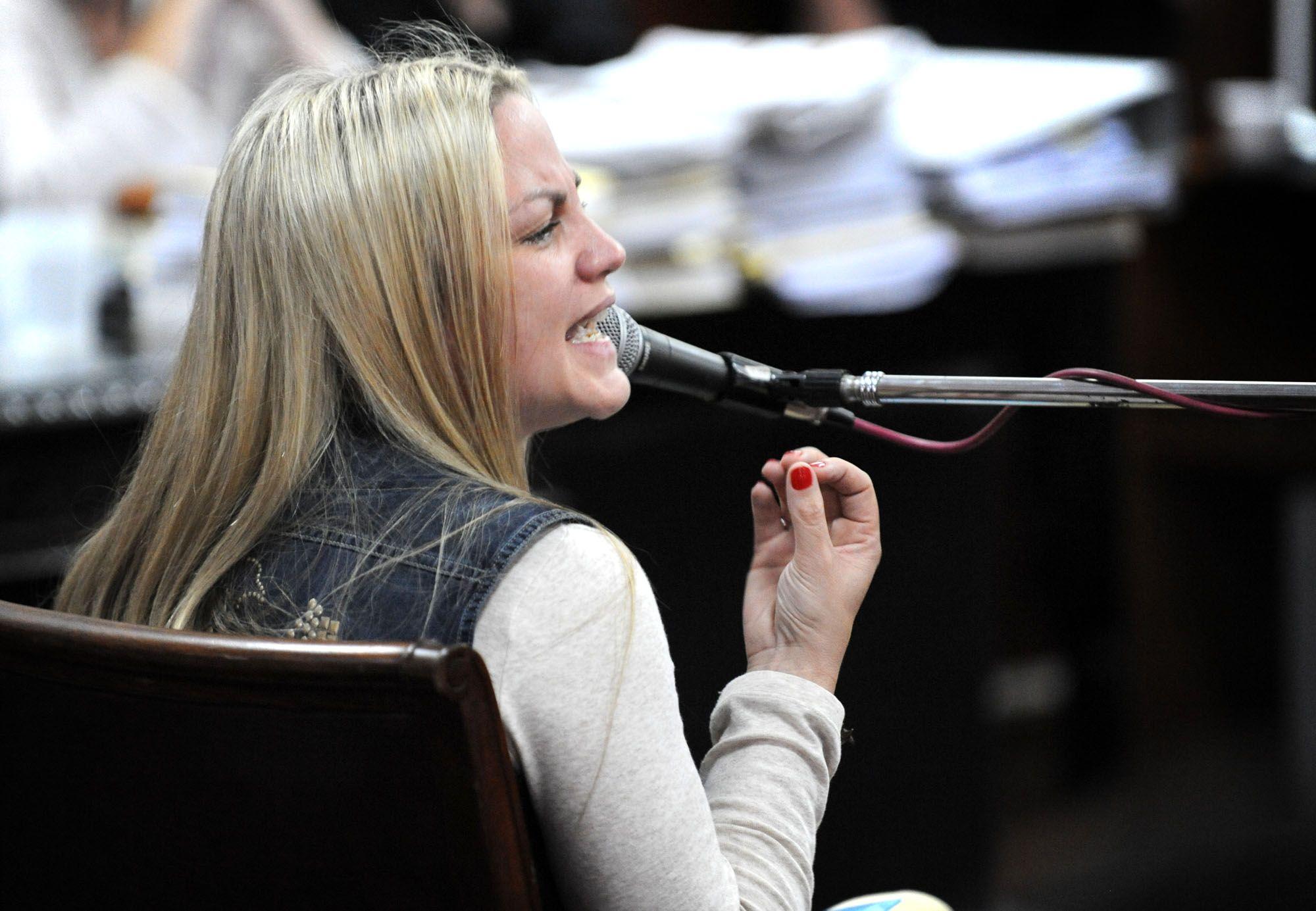 Carolina Piparo habló sobre la reducción de la condena a los delincuentes que la balearon