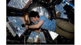 La historia de la astronauta italiana