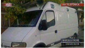 Lomas de Zamora: roban una ambulancia y arrollan a una embarazada