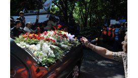 Inhumaron en La Tablada los restos de Nisman