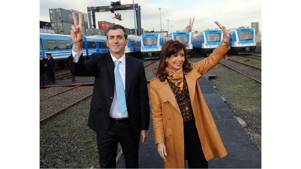 Cristina y Randazzo inauguran el renovado ramal Suárez de la línea Mitre