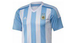 Ahora sí: ésta es la camiseta que usará Argentina en la Copa América