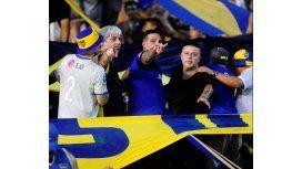 ¿Di Zeo y Martín en tribunas en el Superclásico?