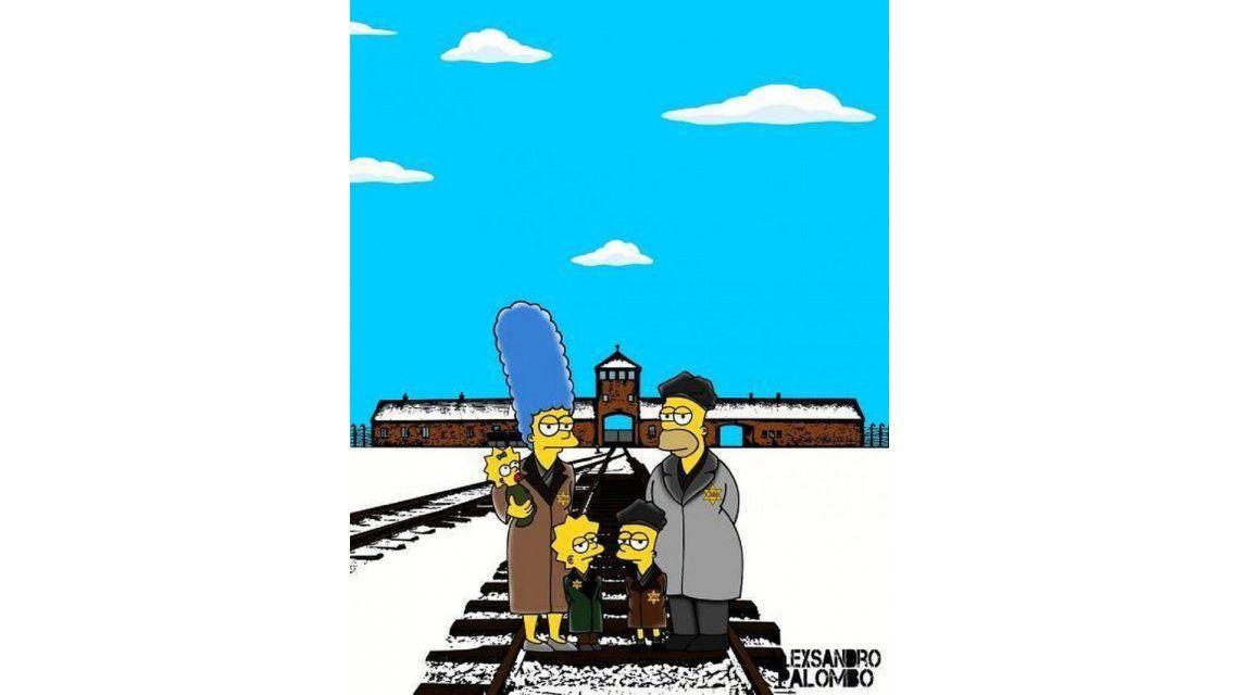 Nunca más: Los Simpson, a 70 años del cierre en Auschwitz