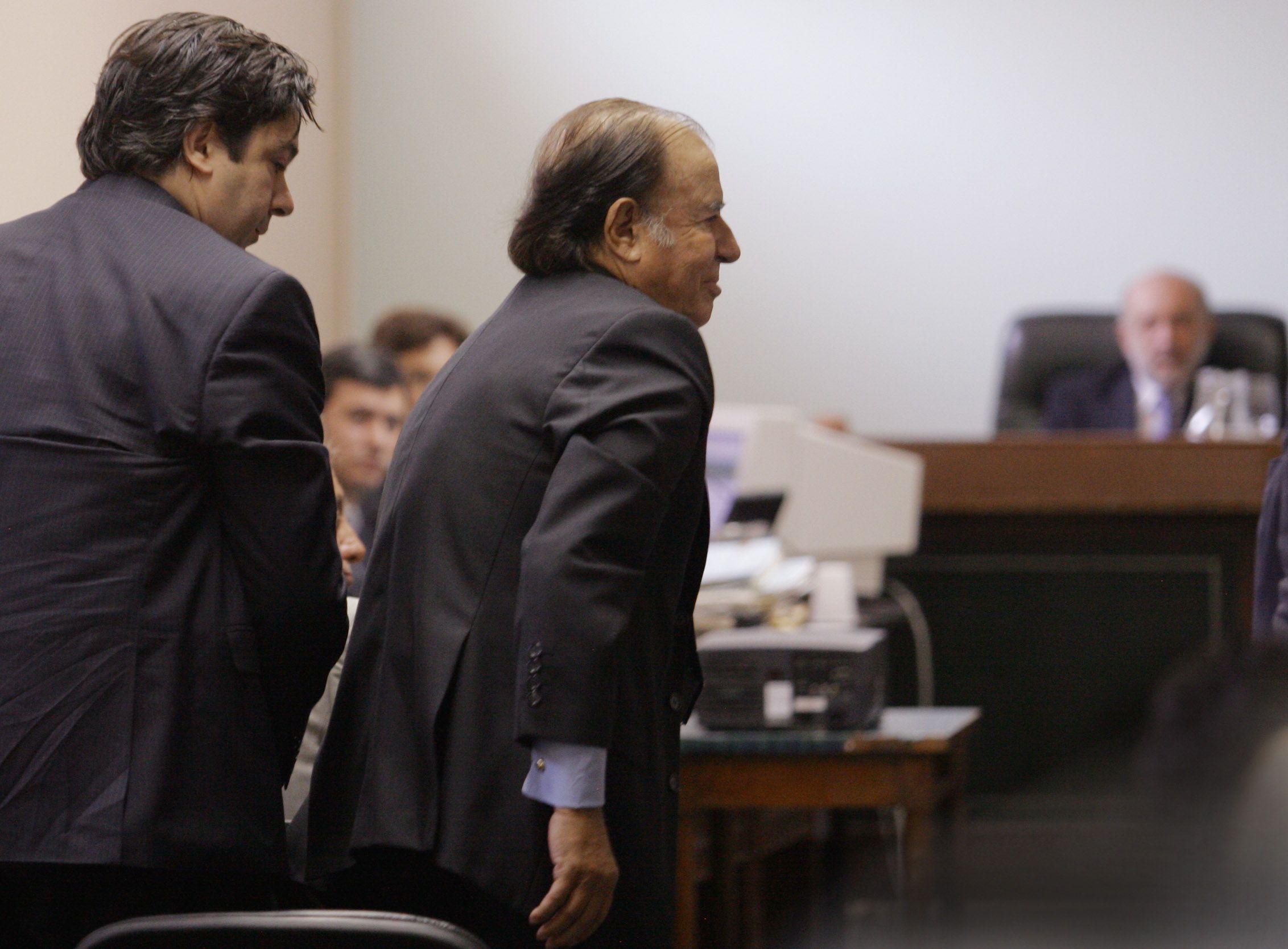 Lagomarsino designó como defensor a un ex abogado de Menem