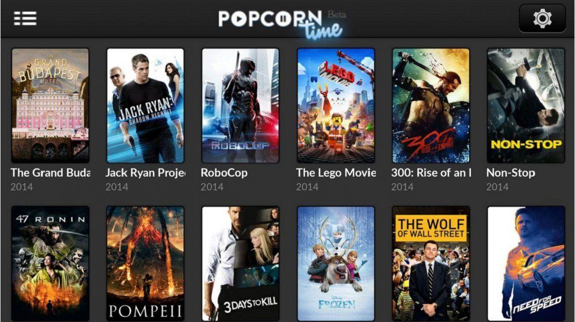 Popcorn Time, la aplicación de piratería creada en Argentina que amenaza a Netflix