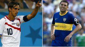 Boca gastará en Bryan Ruíz mucha más plata de la que le negó a Riquelme