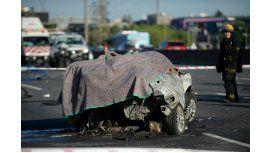 Choque múltiple en Panamericana: un muerto
