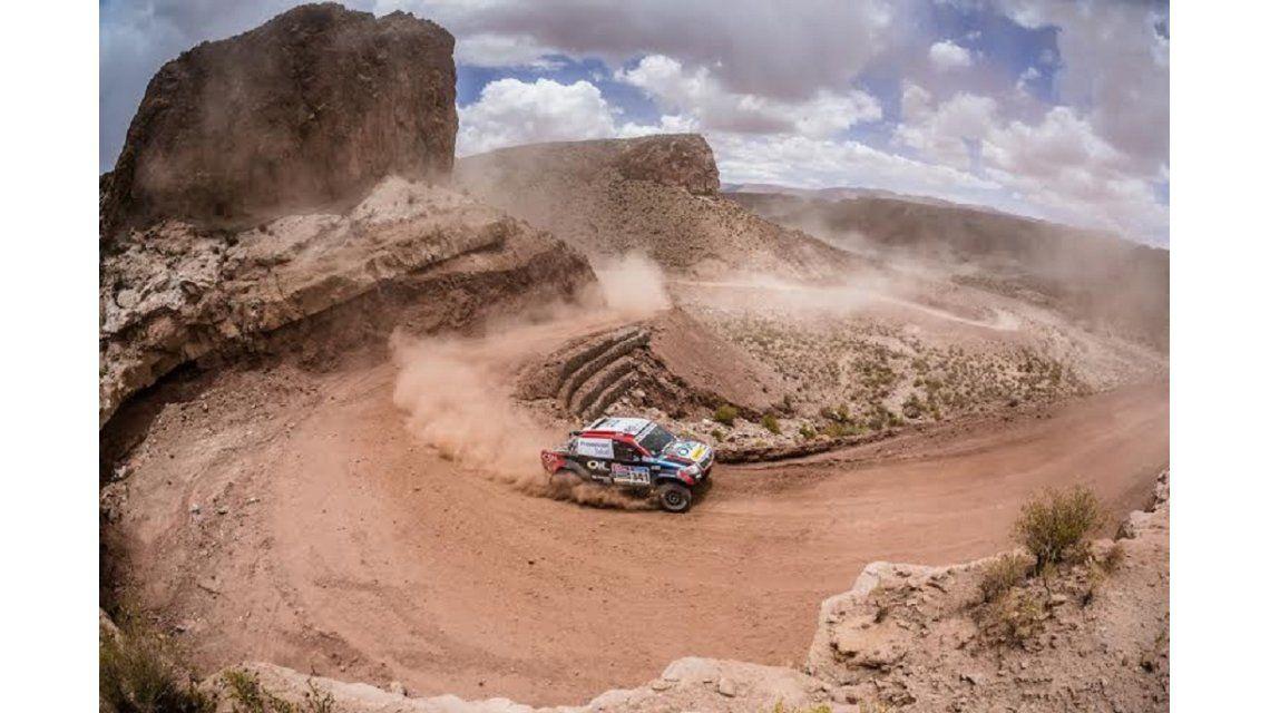 Nazareno López cumplió el objetivo y terminó el Dakar 2015