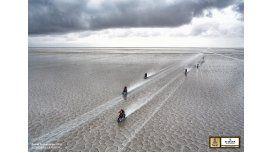 Esta fue elegida la mejor foto del Dakar 2015