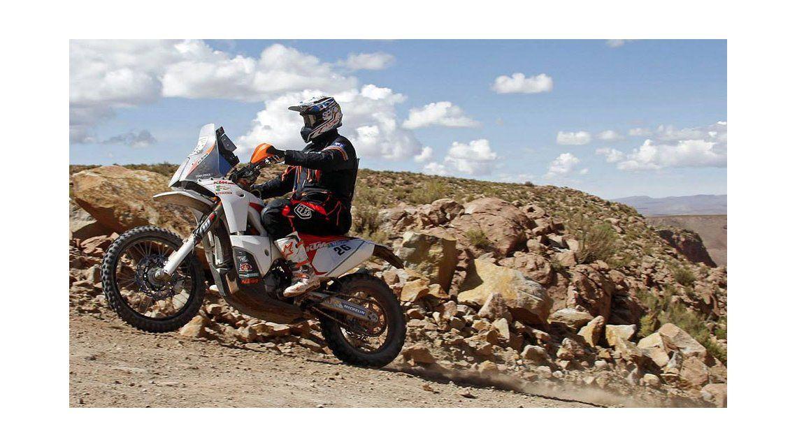 Toby Price se quedó con la anteúltima etapa del Dakar en motos