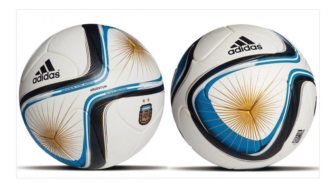 5abda5de0dd5d Conocé la nueva pelota que tendrá el fútbol argentino este 2015 ...