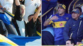 Boca le levantó el derecho de admisión a Rafael Di Zeo y Mauro Martín