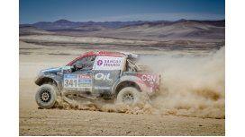 El equipo Toyota OIL C5N completó otra etapa y ya está en Iquique