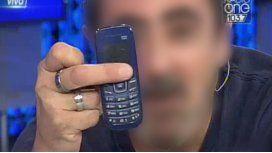 ¿De qué famoso conductor es este celular?