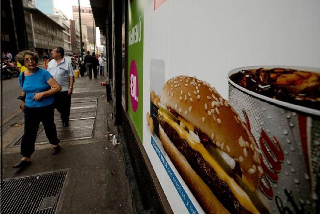 McDonalds dejó de vender papas fritas en Venezuela
