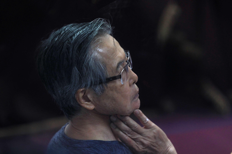 Internan de urgencia al expresidente de Perú Alberto Fujimori