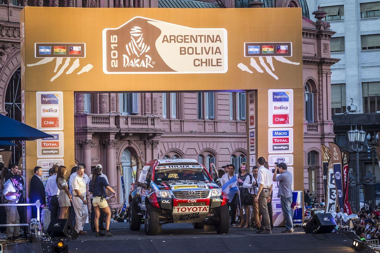 Se acabó la espera: el Rally Dakar puso primera en Buenos Aires
