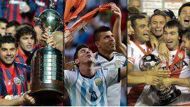 2014: el gran año del fútbol argentino