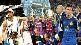 Lo más destacado del deporte argentino en 2014