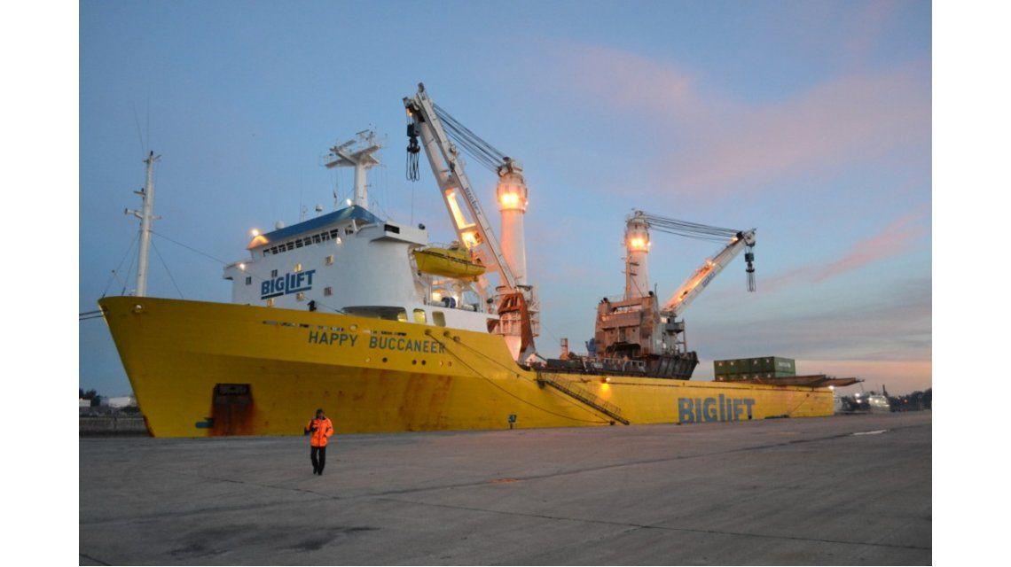 Scioli inaugura un puerto en La Plata