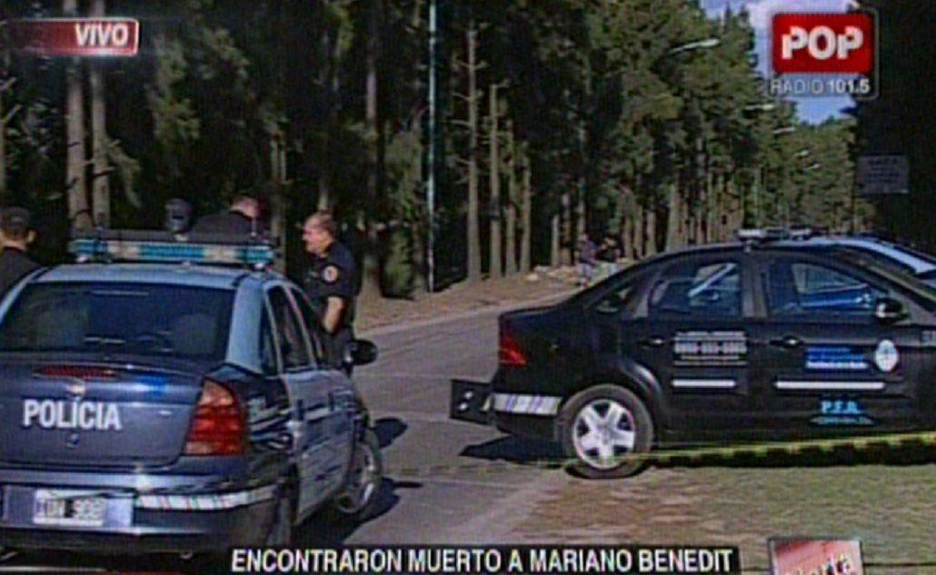 Mariano Benedit: sospechan que la escena del crimen sería montada