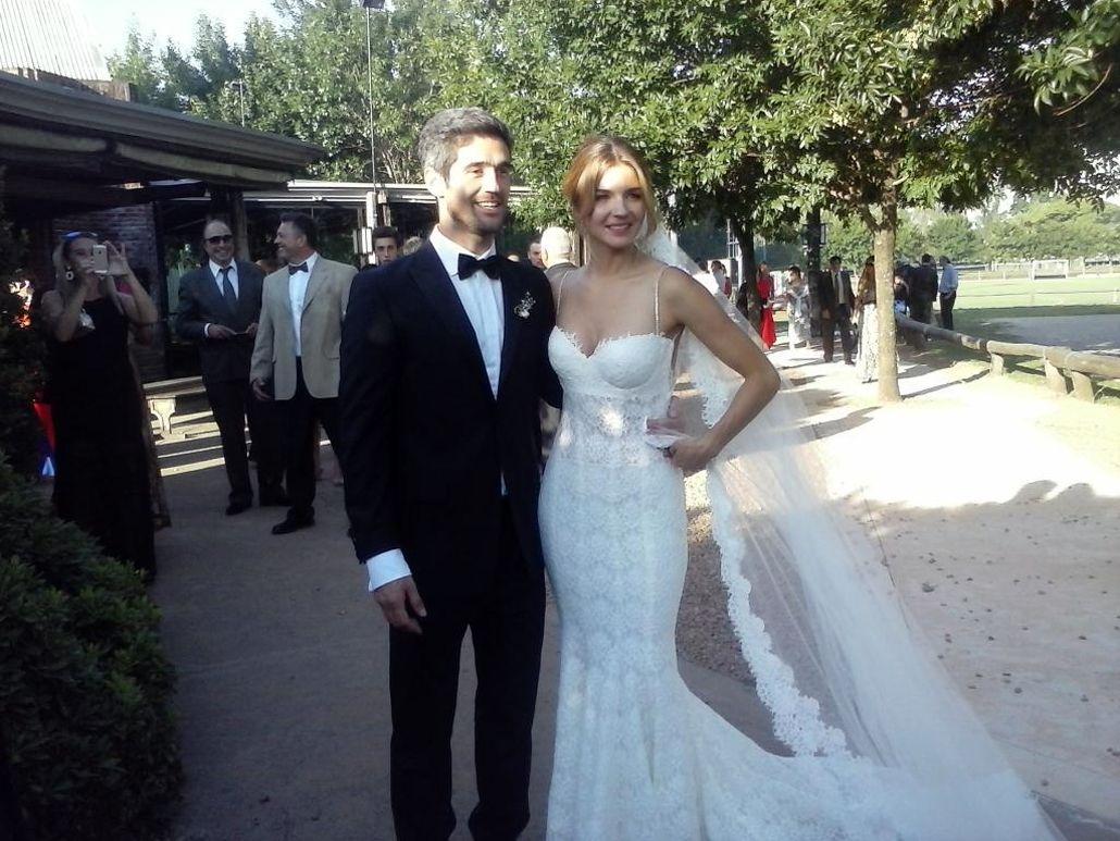Marcela Kloosterboer y su marido