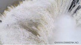 Las Cataratas del Iguazú desde un drone