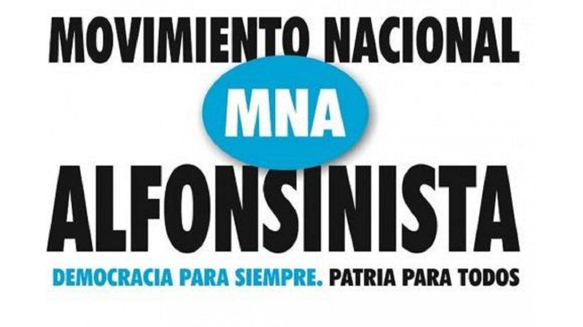 Lanzaron el Movimiento Nacional Alfonsinista para consolidar el sistema democrático