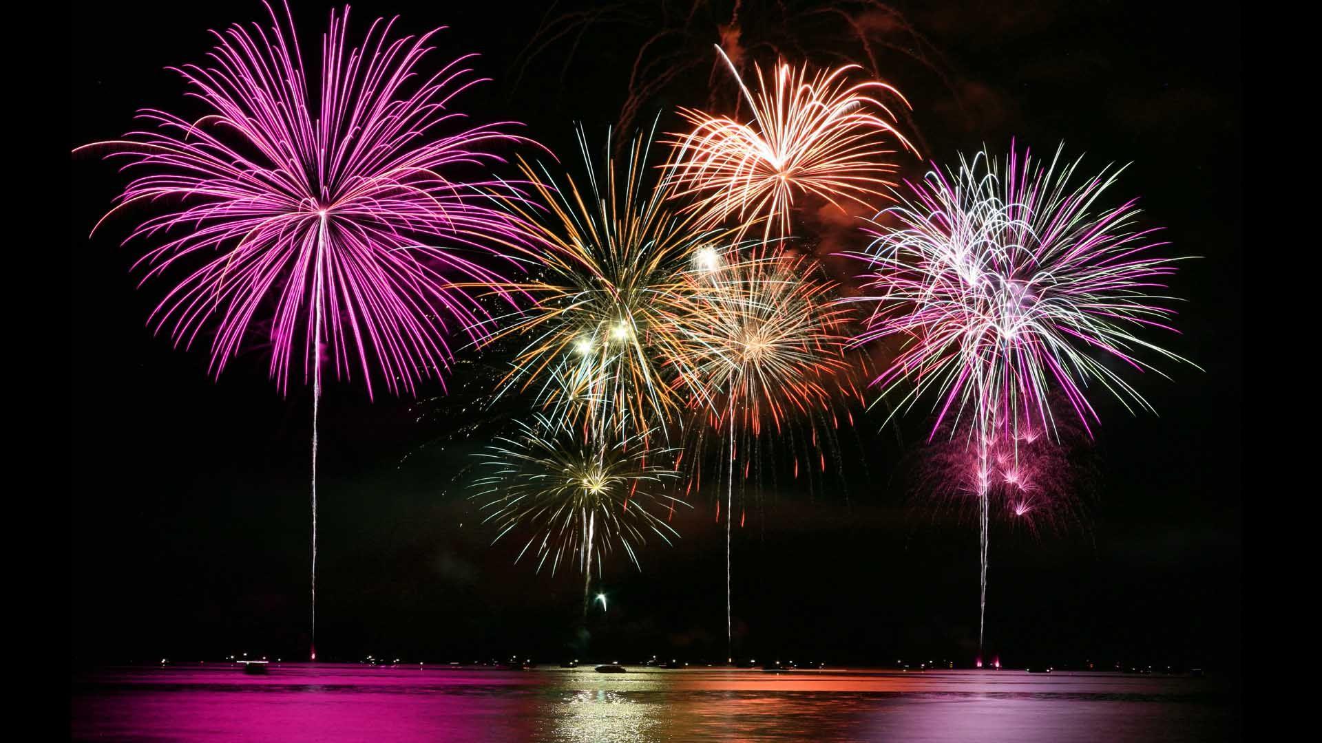 f5292f7bcb7 Consejos para sacarle buenas fotos a los fuegos artificiales y luces  navideñas