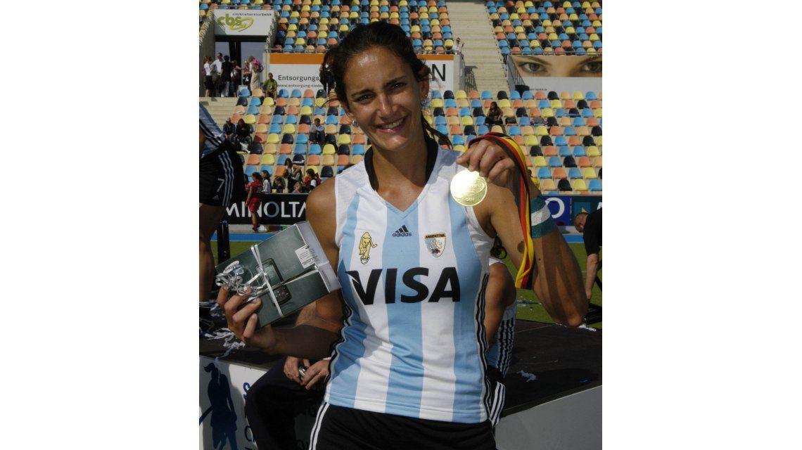 El estadio de hockey de Rosario se llamará Luciana Aymar