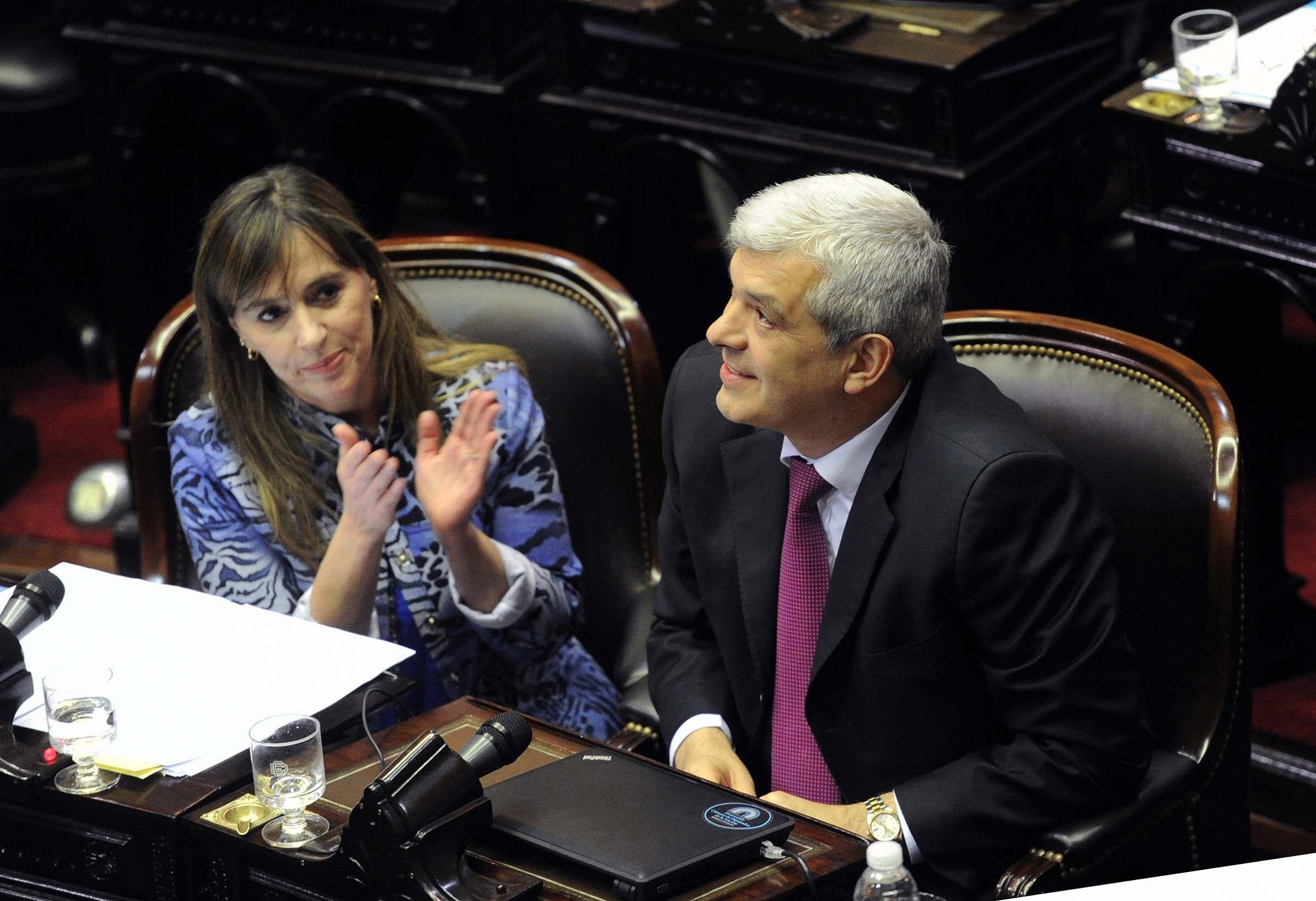 Legisladores del FPV en defensa de Gils Carbó y los fiscales designados