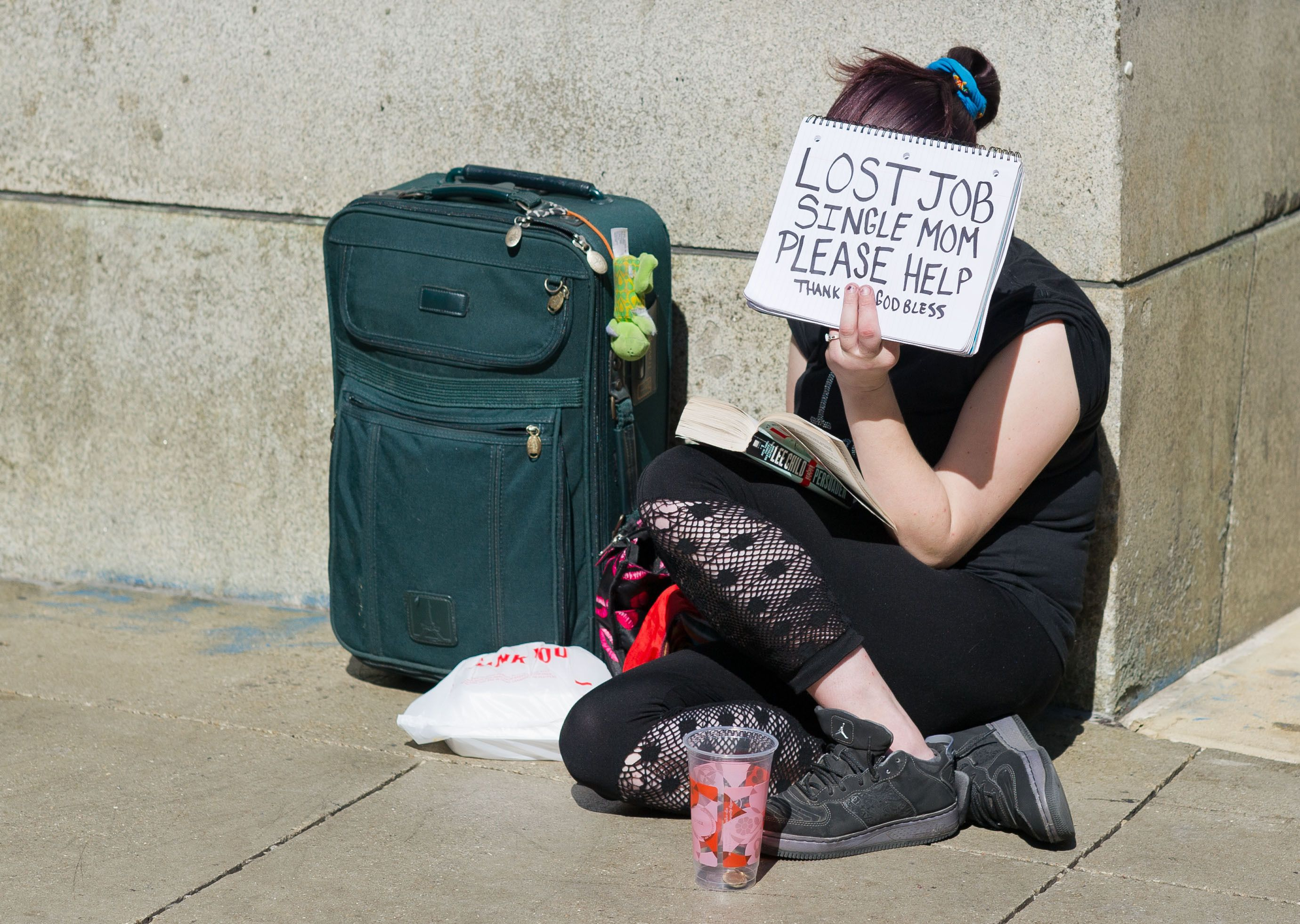 Estados Unidos: el 35,4% de las personas sobrevive con cupones alimenticios