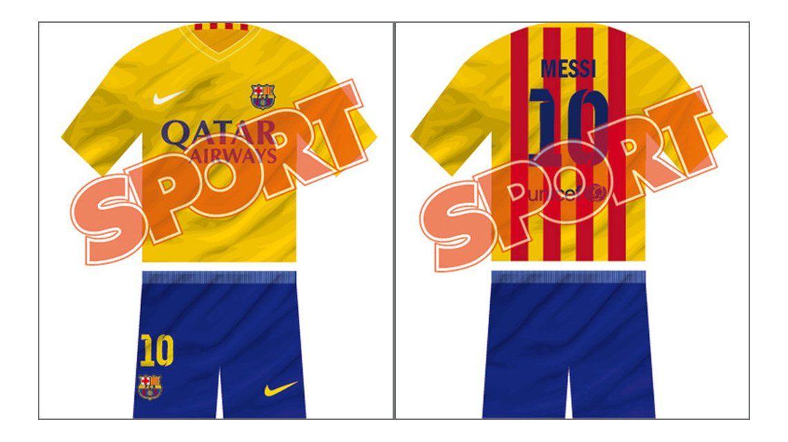 8c11950874 Mirá la sorprendente e inédita nueva camiseta del Barcelona  ¿te gusta