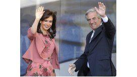 Cristina felicitó a Tabaré por el triunfo en los comicios