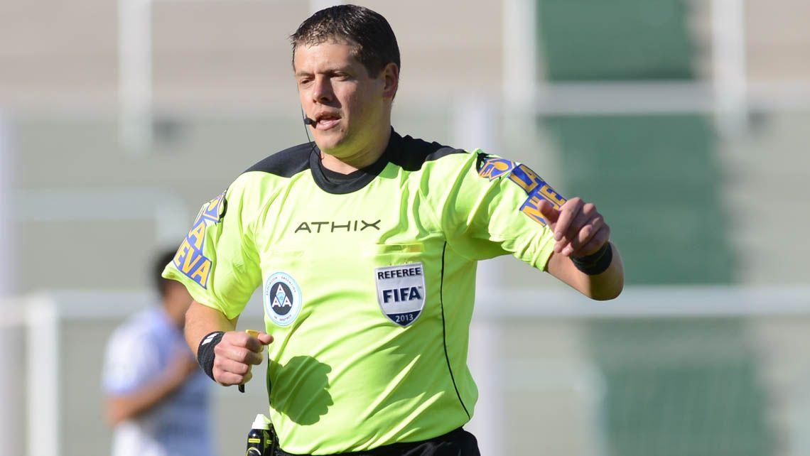 Germán Delfino será el árbitro de la Supercopa Argentina entre River y Lanús