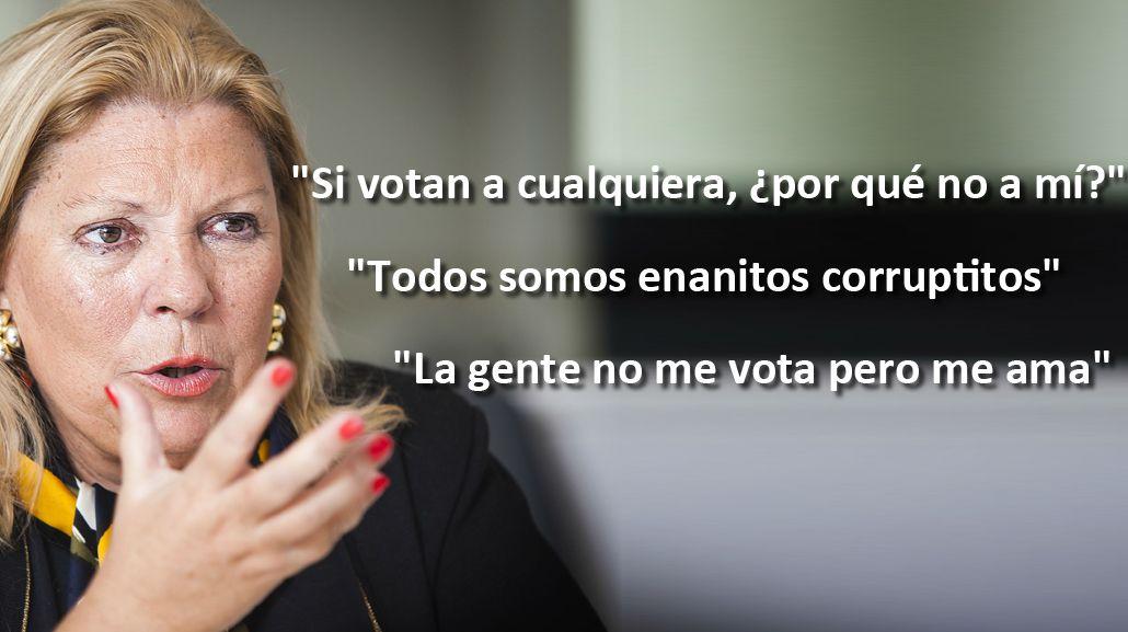 #CarrióDesUNEN: las frases más picantes de una incontenible Lilita
