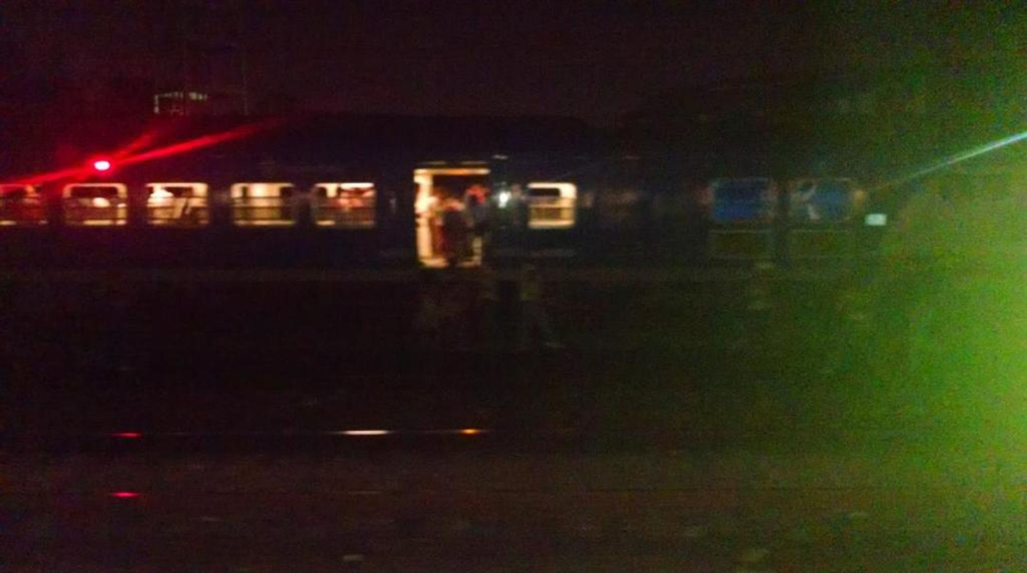 Se descarriló un tren a 100 metros de la estación Paternal: 11 heridos