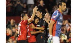 Newells y Lanús empataron en el cierre del campeonato