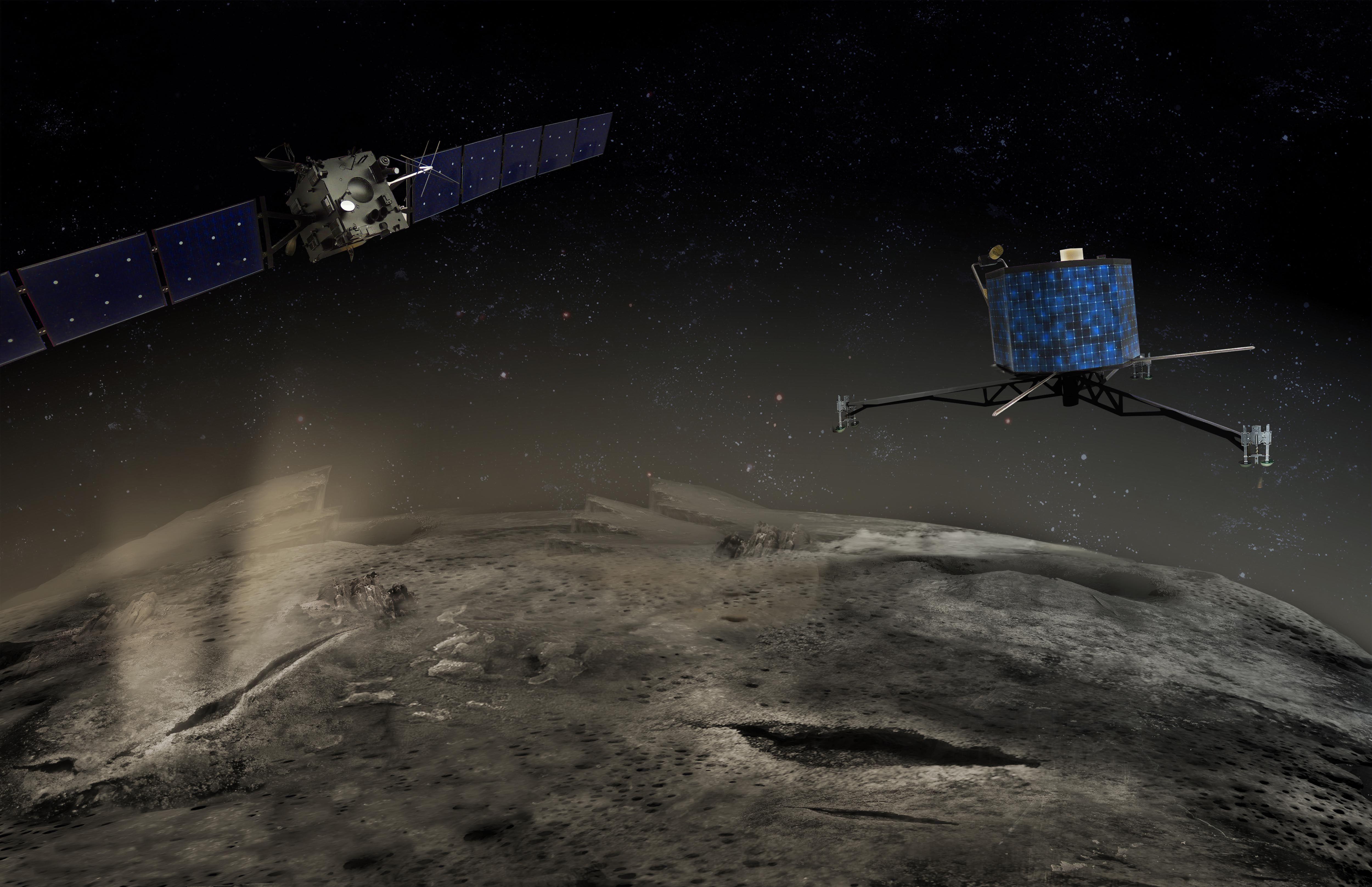 La Misión Rosetta se comunica con la Tierra a través de la Argentina