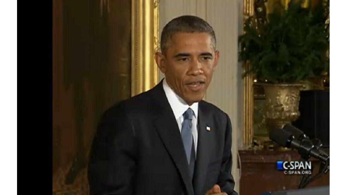 Obama, tras la dura derrota en el Congreso: Los principios no cambian