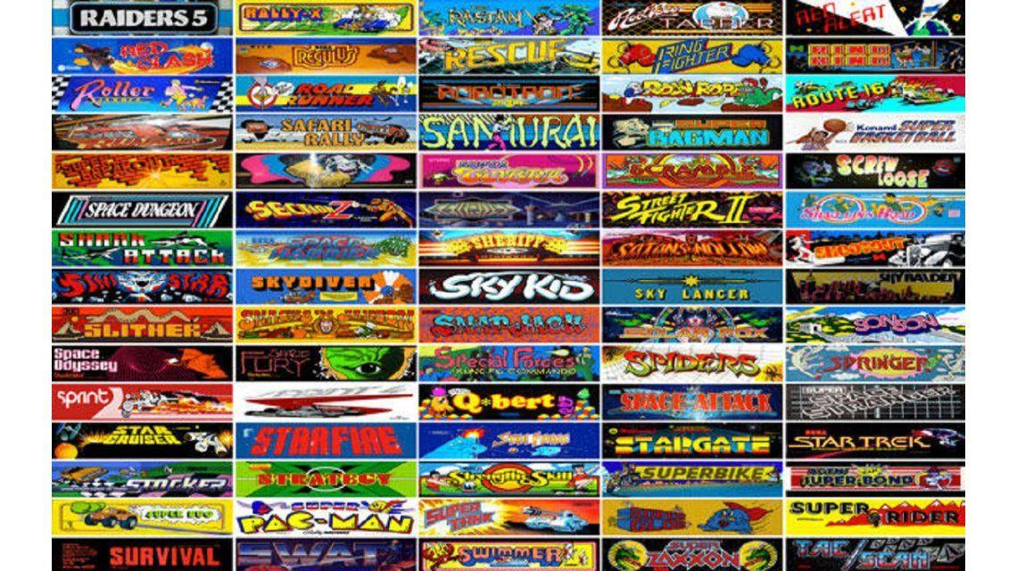 Conoce Los 900 Juegos De Arcade Disponibles Gratis A Traves Del