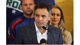 Neves reconoció su derrota y confía en un proyecto que unifique Brasil